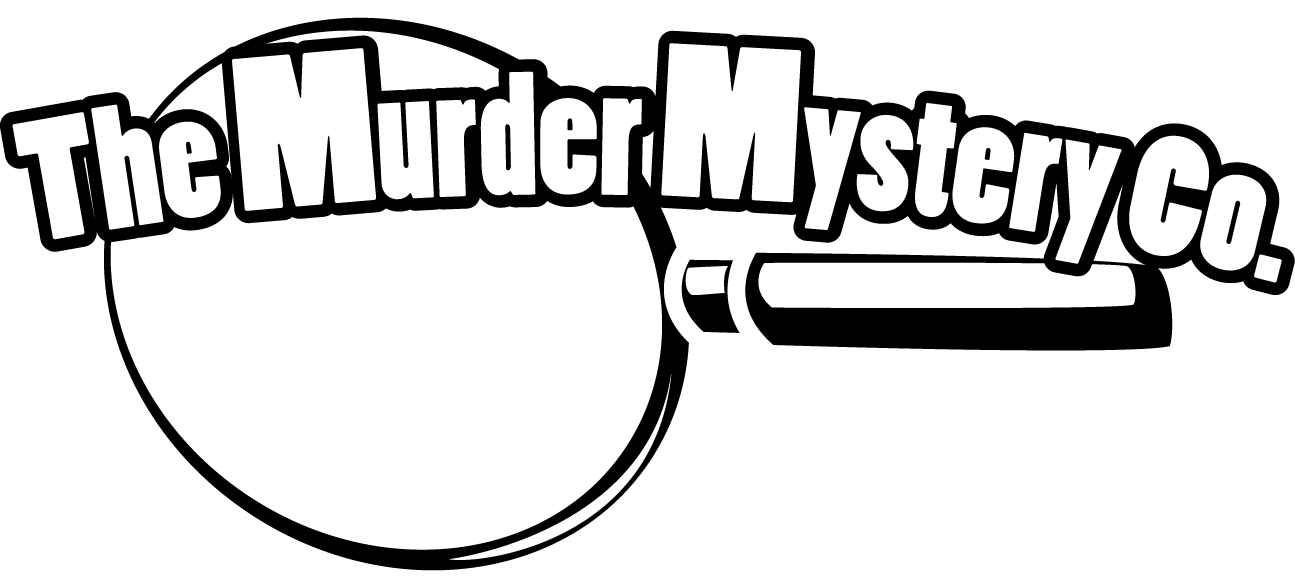 Murder dinner parties in. Crime clipart mystery number