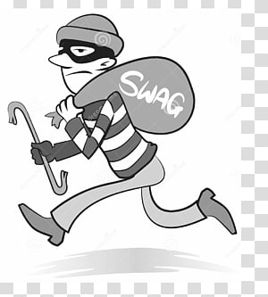 Transparent background png cliparts. Crime clipart robbery