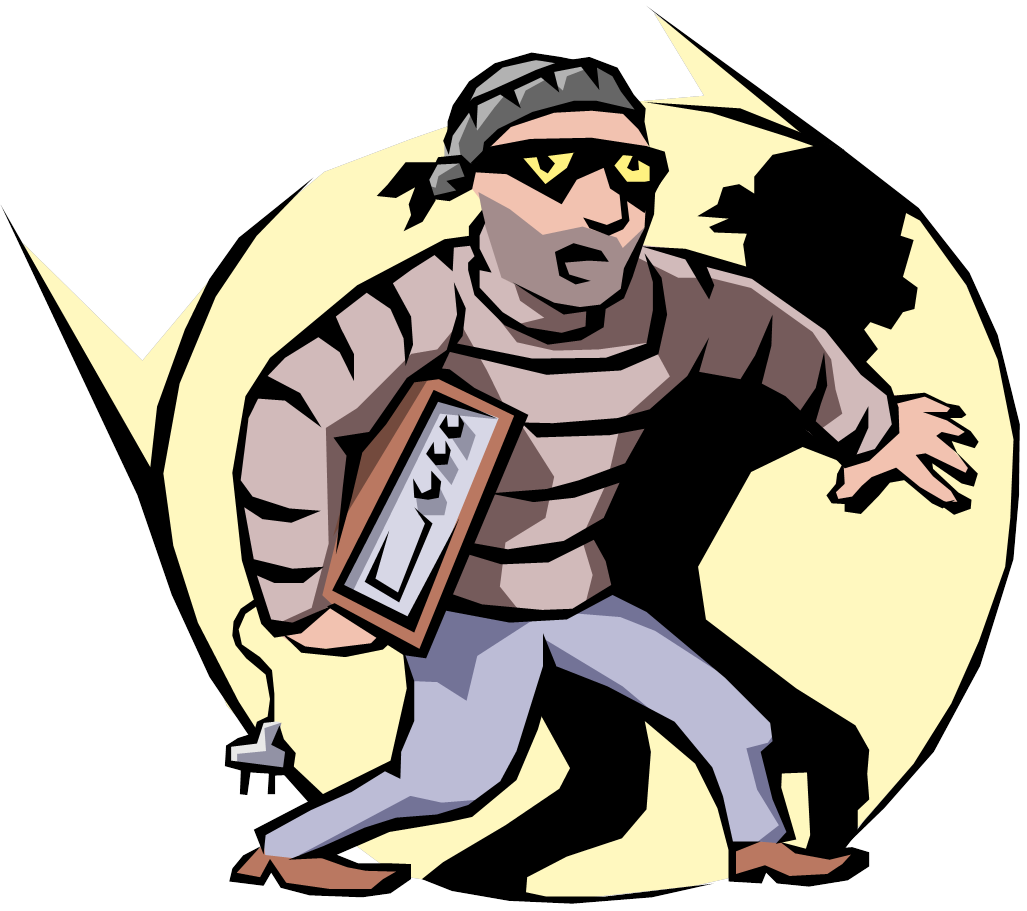 Metal theft shrinkage headless. Crime clipart shoplifting