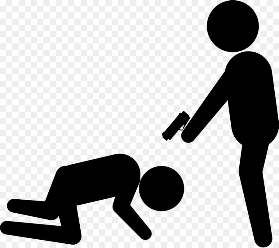 Criminal clipart crime violence. Hand cartoon silhouette line