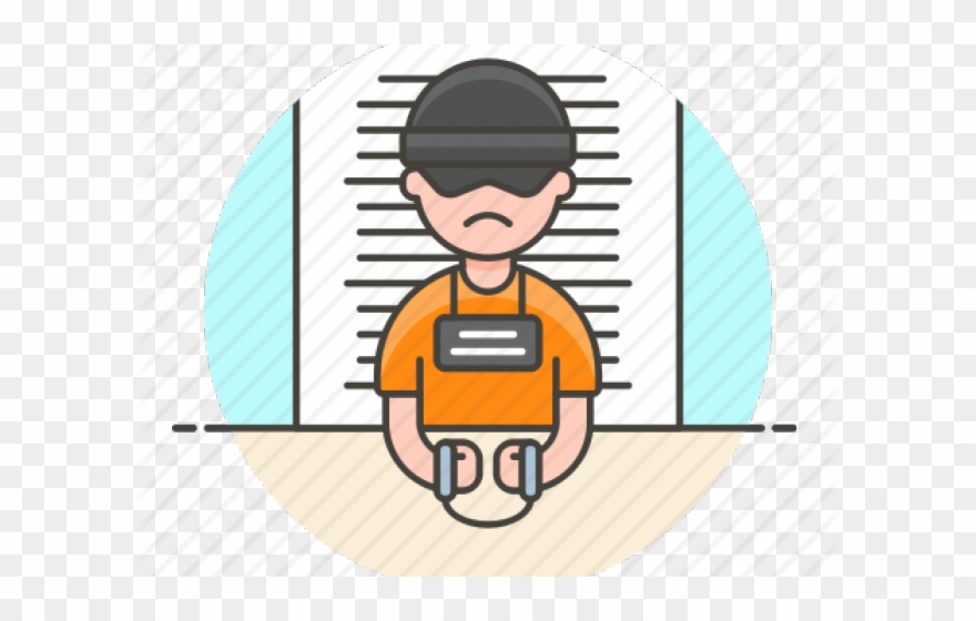 Prison youth crime png. Jail clipart criminal
