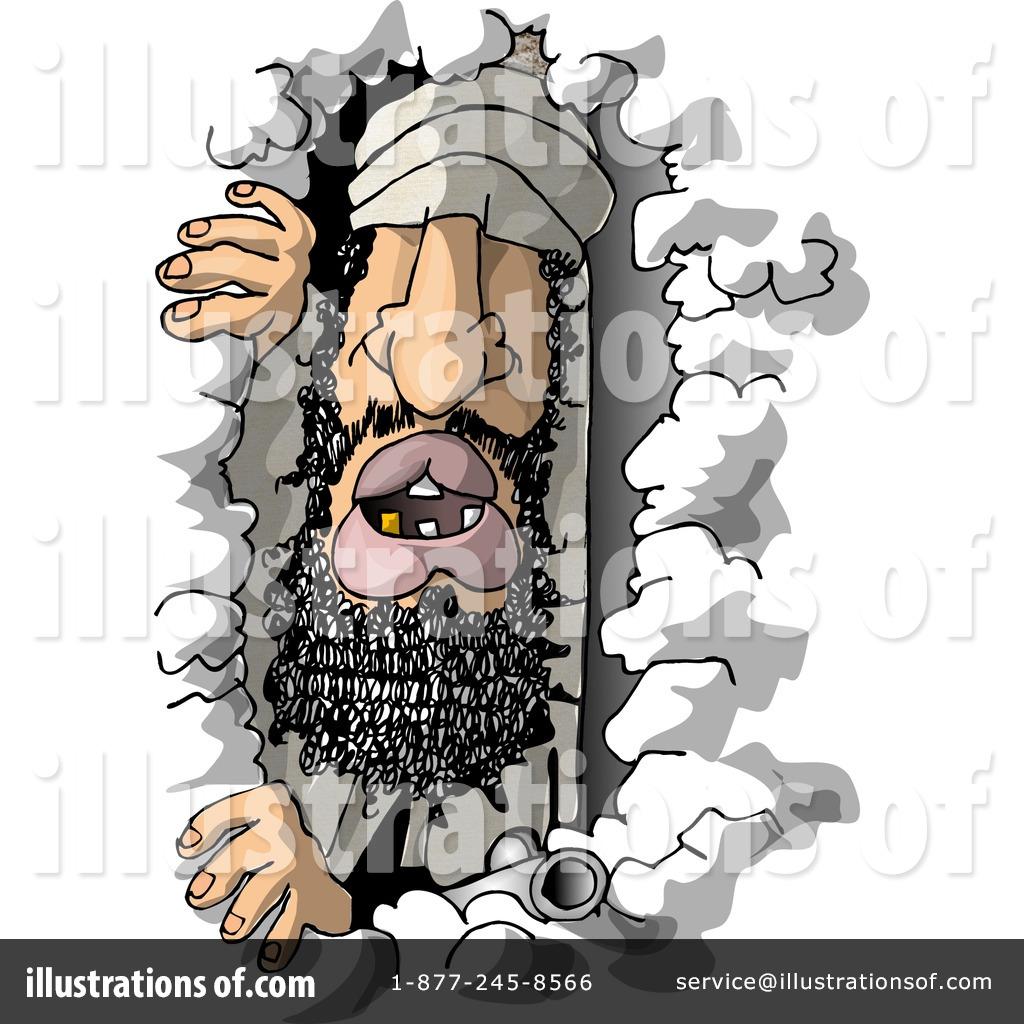 Illustration by djart royaltyfree. Criminal clipart