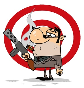 Free image people cartoon. Criminal clipart