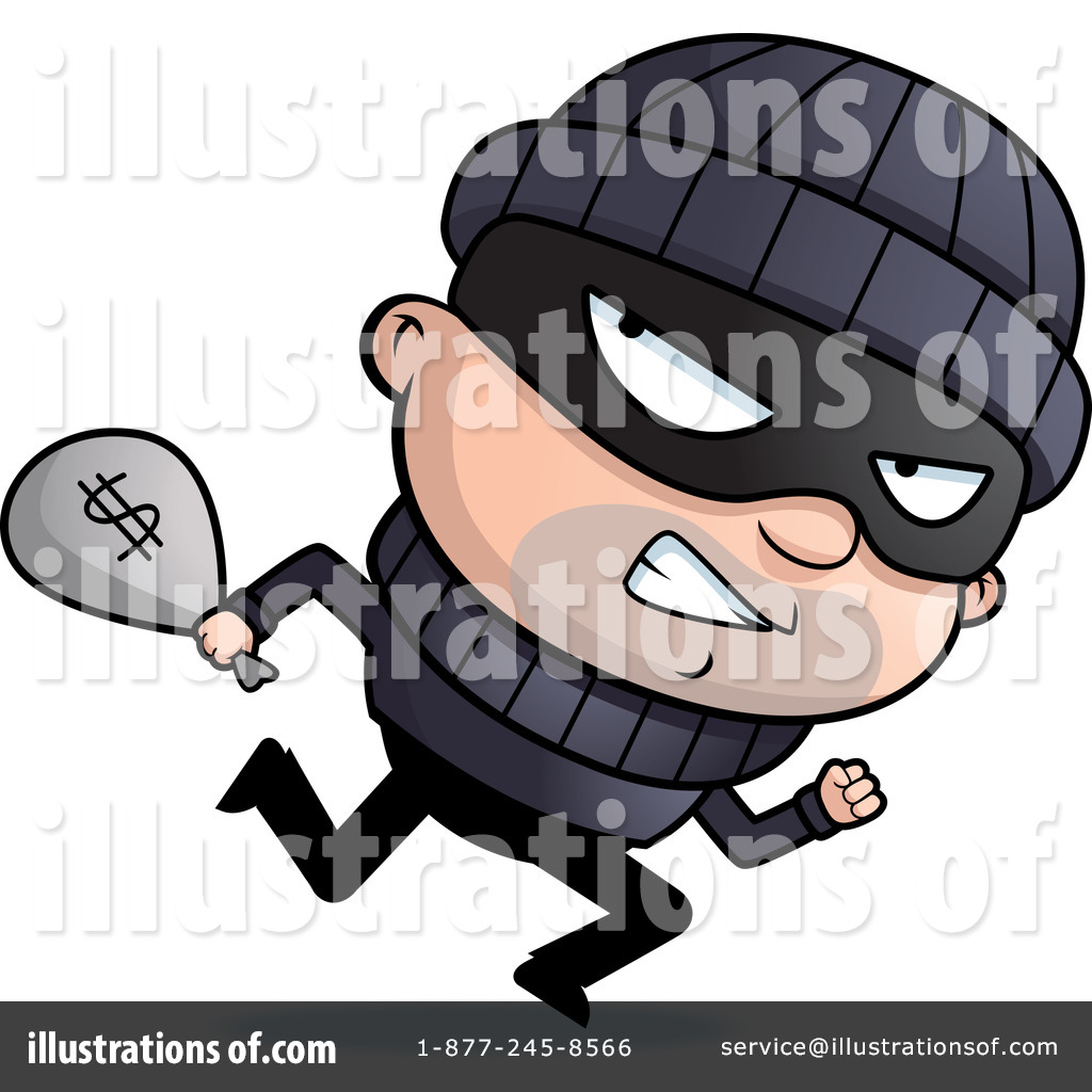 Criminal clipart. Illustration by cory thoman