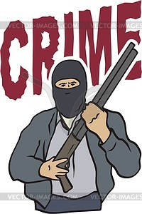 Criminal clipart. Vector panda free images