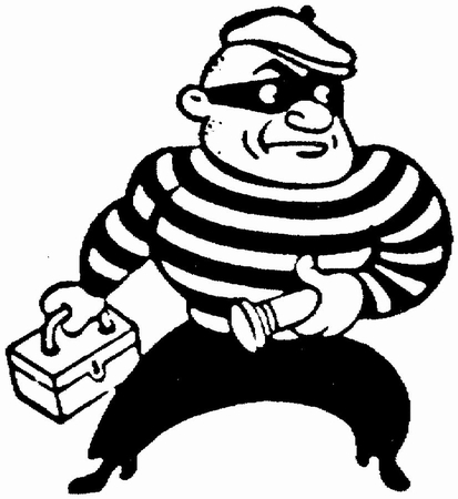 Criminal clipart. Free