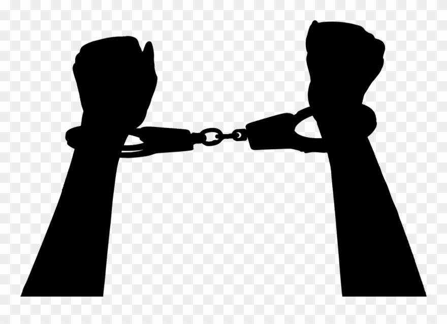 Handcuffs crime clip art. Handcuff clipart accessory