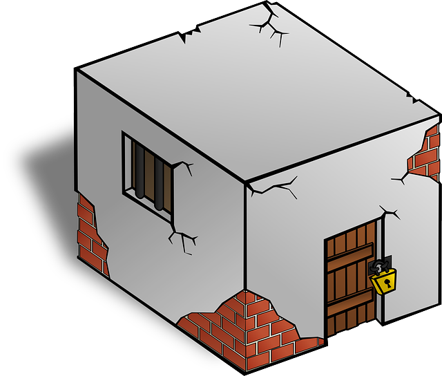 Criminal clipart jail house. Free photo cell locked