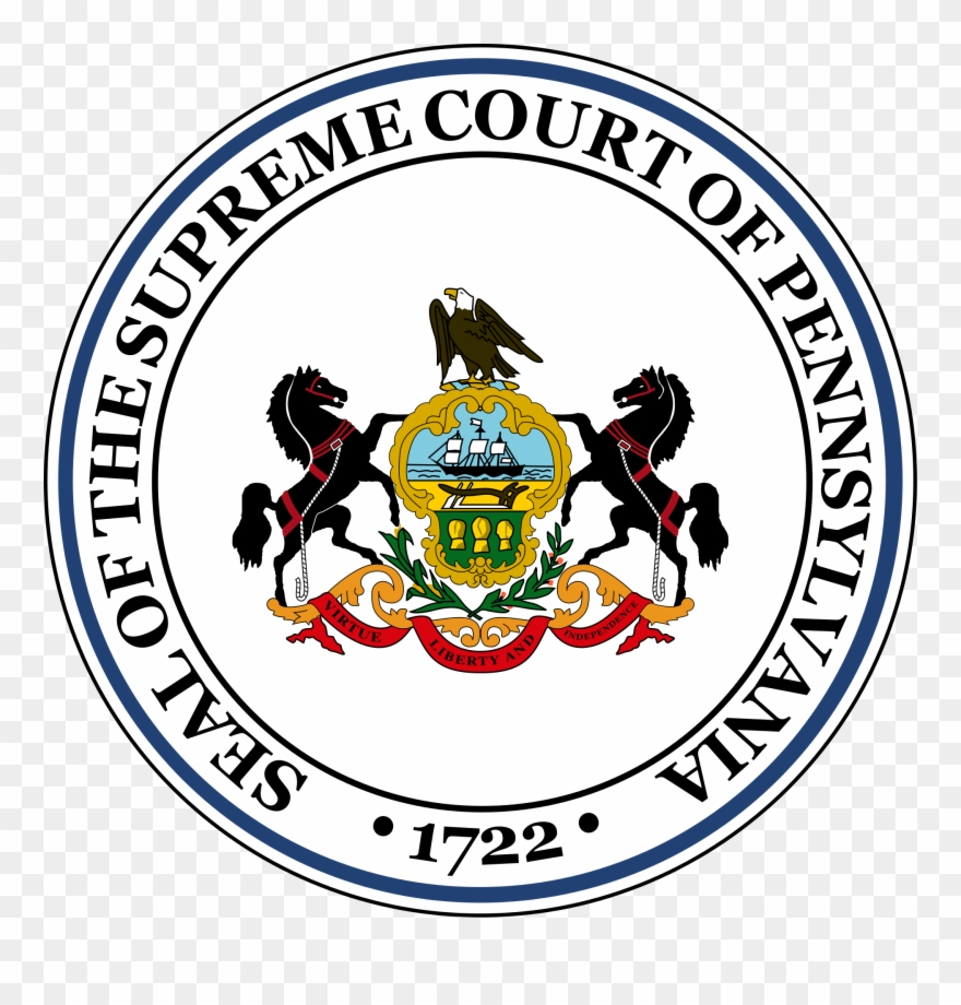 Criminal clipart justice supreme court. Seal of the