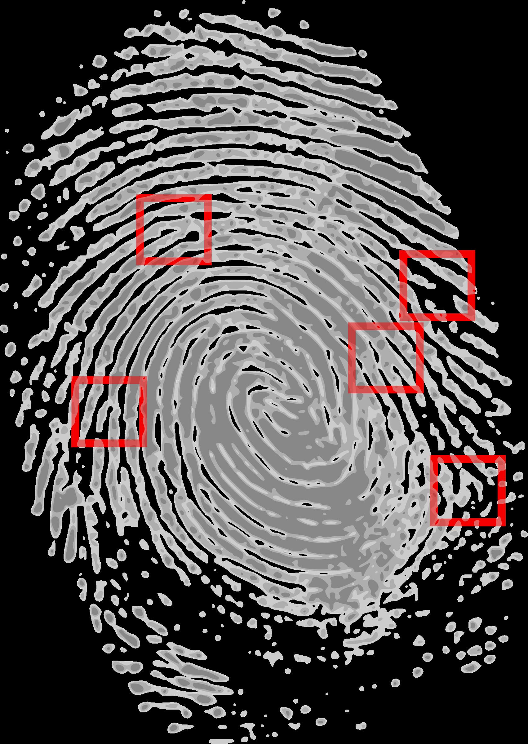 Fingerprint clear background free. Fingers clipart thumbmark