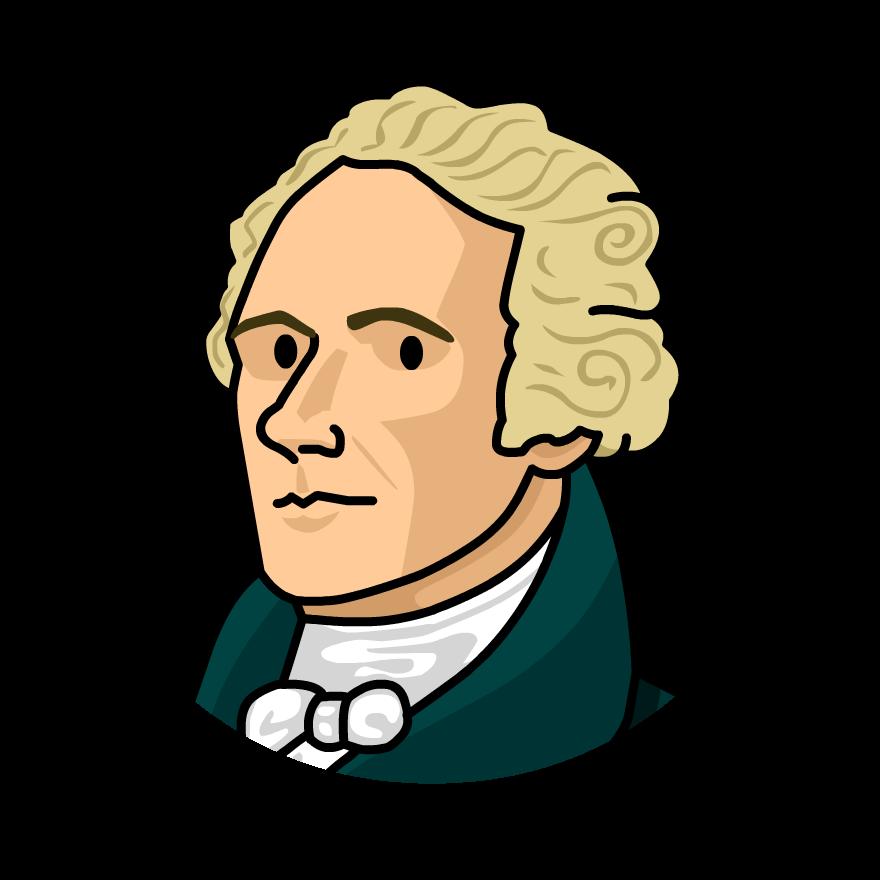 Criminal clipart offender. Jefferson alexander hamilton free