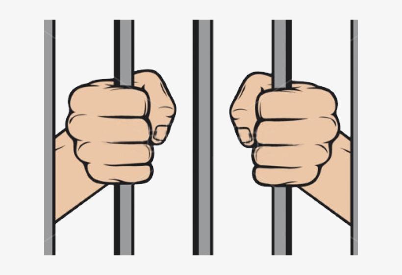 Criminal clipart prisoner war. Prison clip art bars