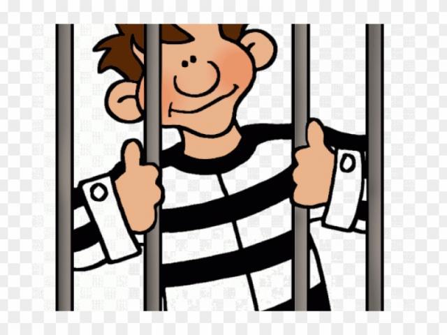 Free crime prevention download. Criminal clipart prisoner war