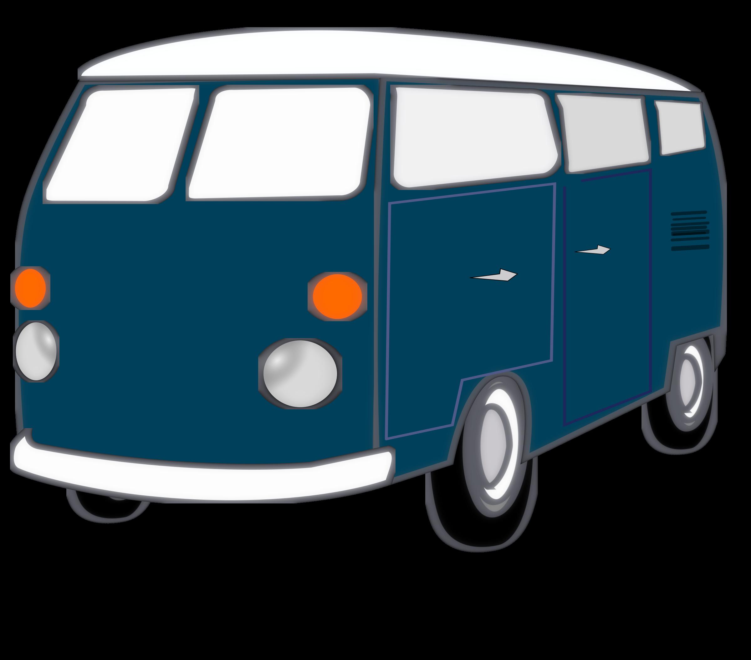 Minivan clipart carpool. Vans small free on