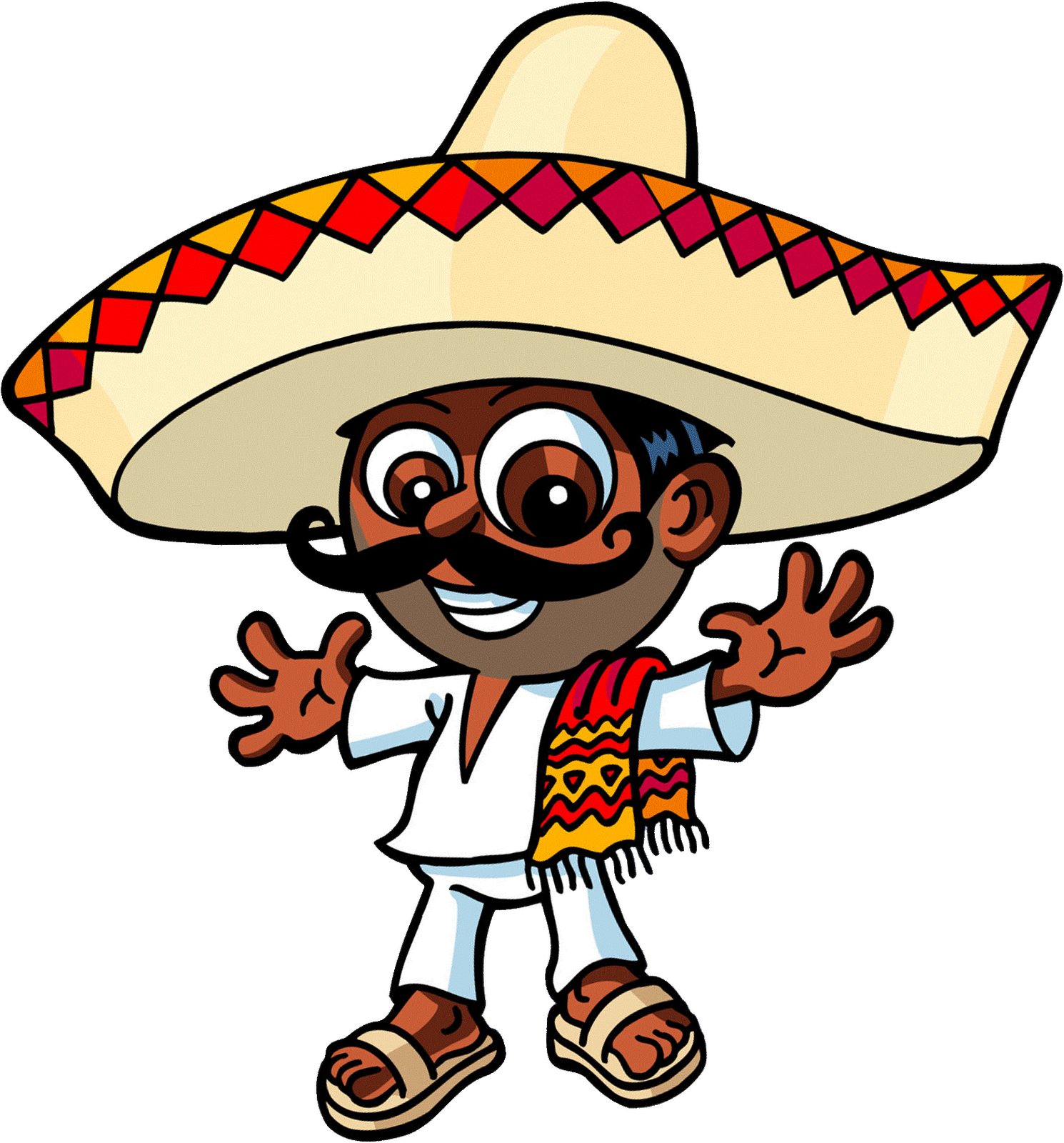 Mexican clipart chihuahua mexican. Free sombrero pictures download