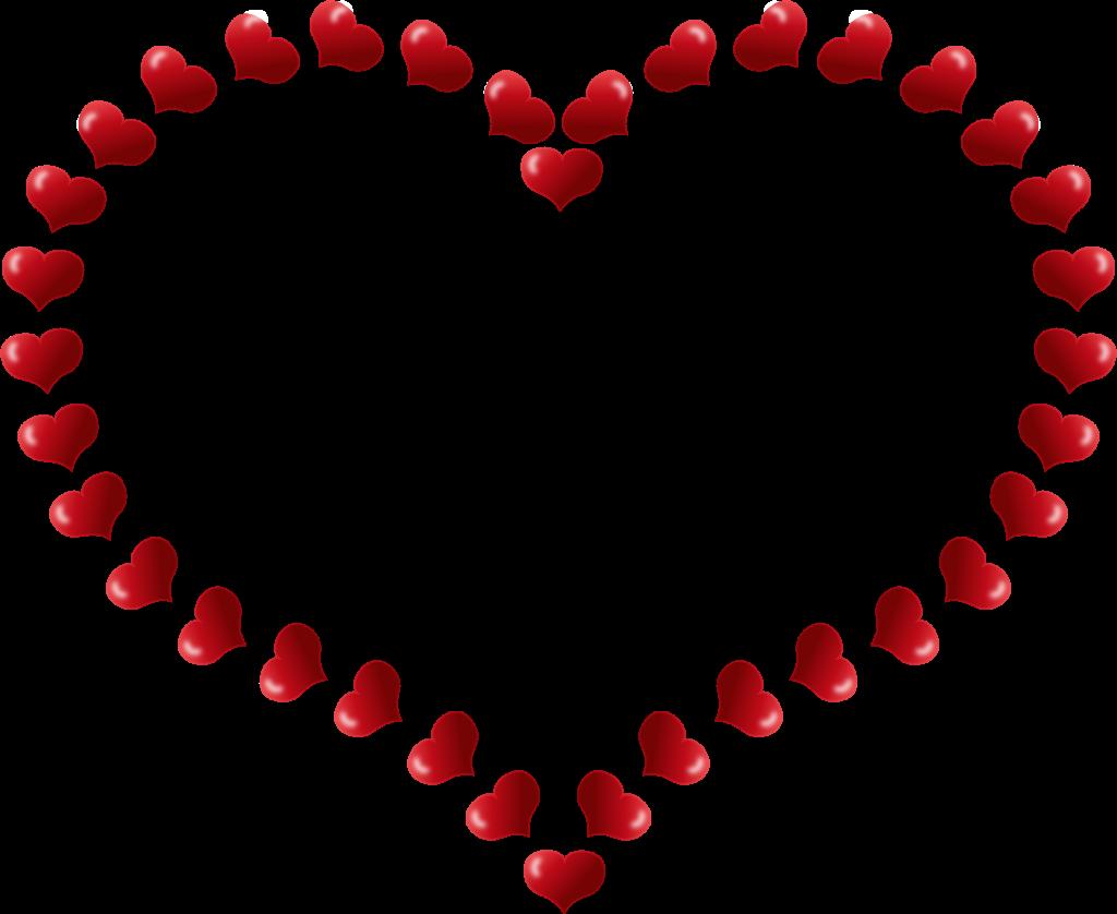 Valentines day hearts printable. Crochet clipart crochet heart