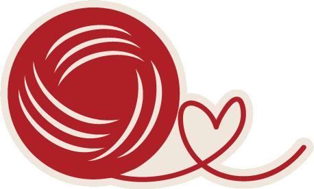 Crochet clipart crochet heart. Pin on silhouette