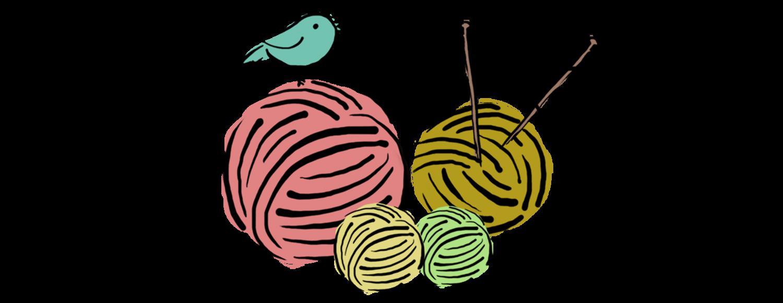 Crochet clipart handmade. Rajut merajut crocheting with