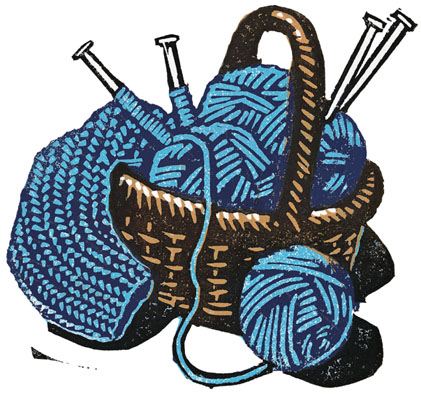 crochet clipart knit scarf