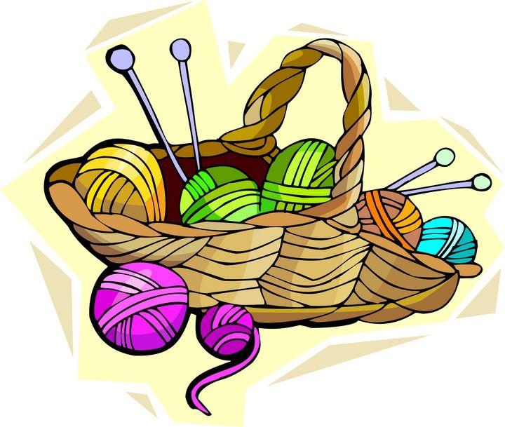 Needle crafts club . Crochet clipart needlecraft