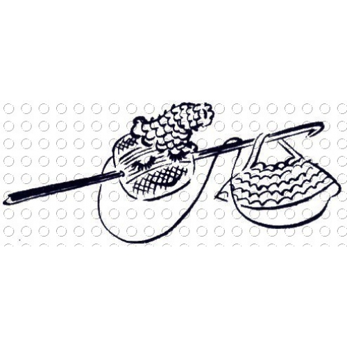 Crochet clipart vintage crochet. Clip art library