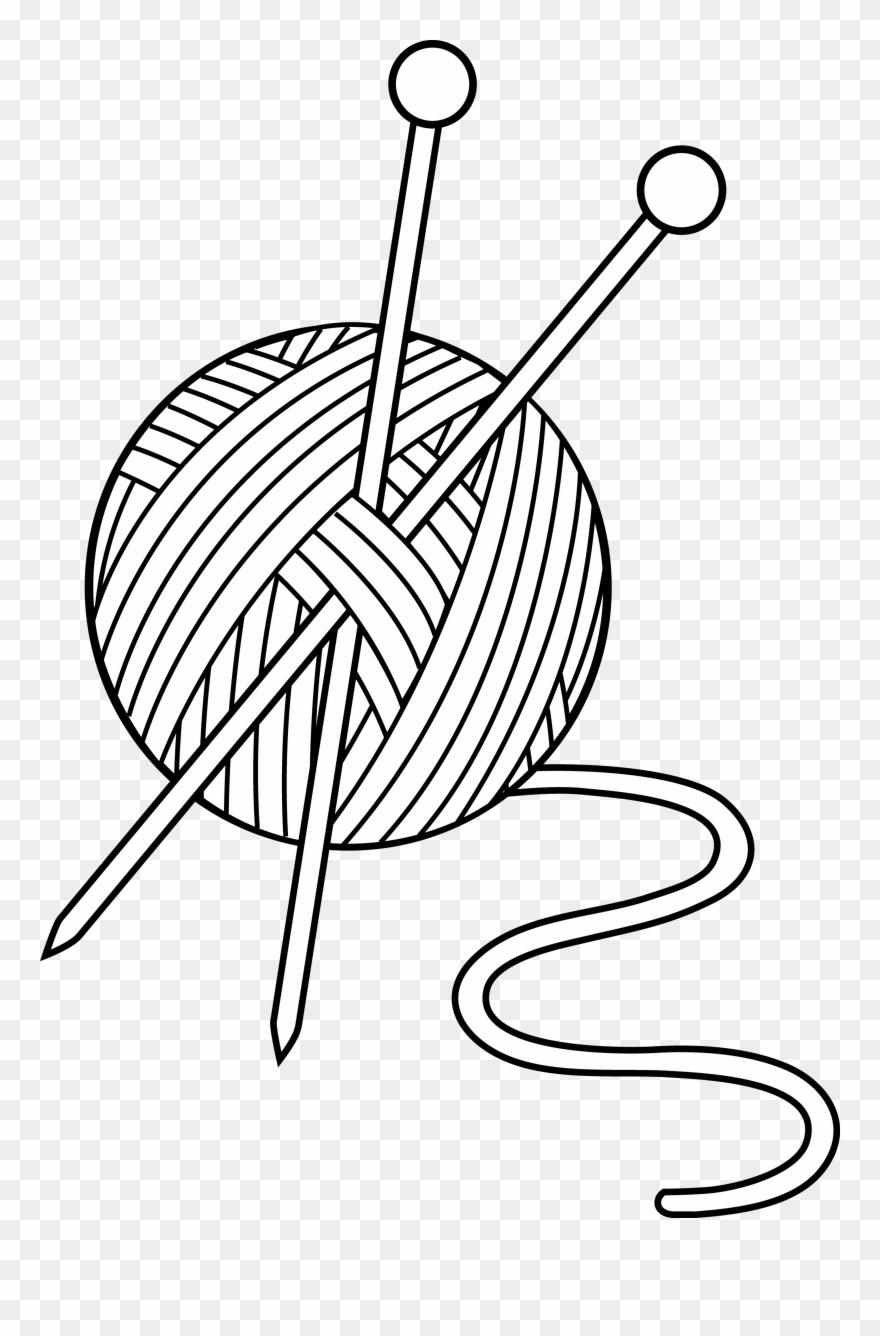 Crochet clipart wool. Art ac d deb