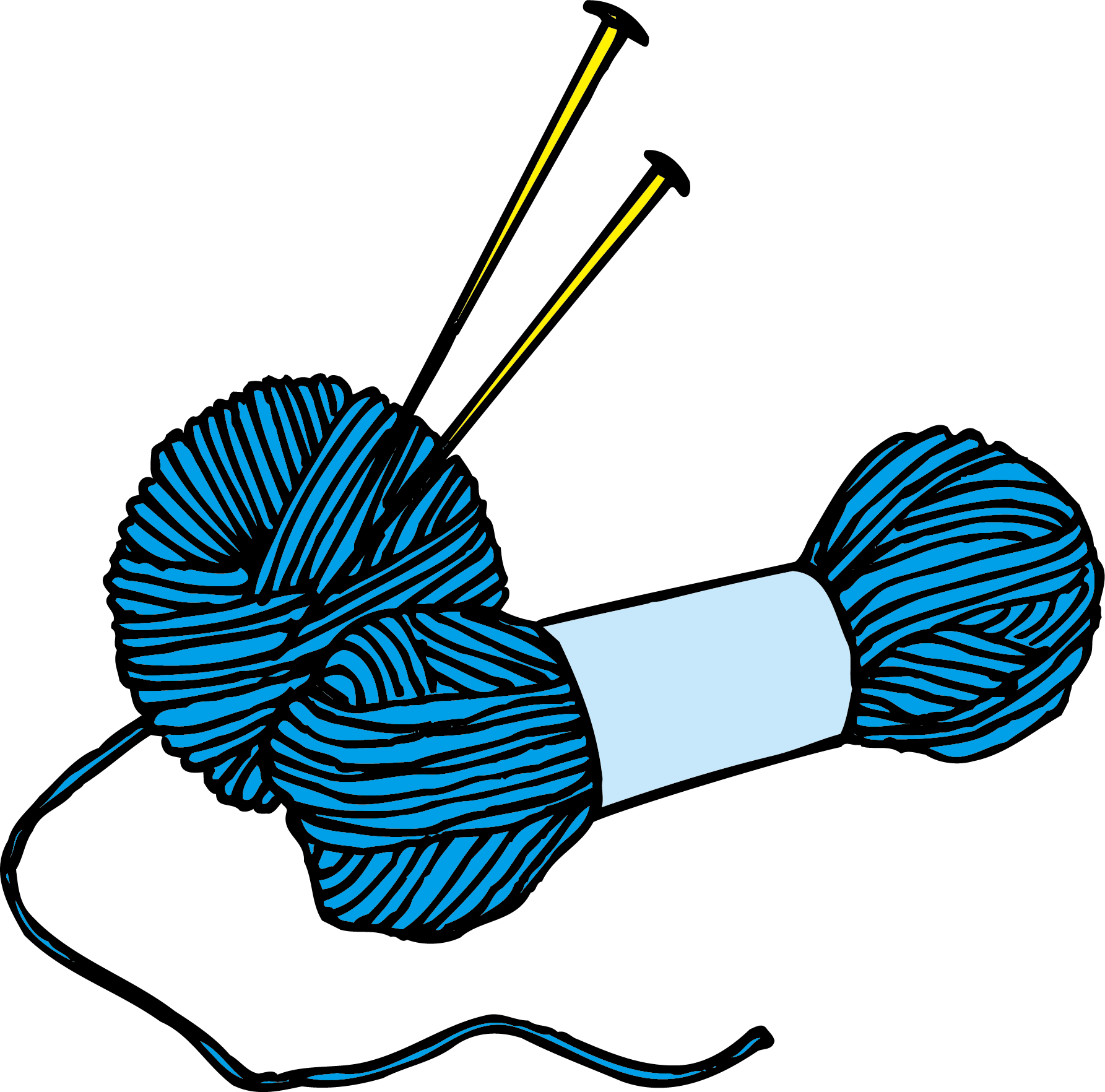 Crochet clipart yarn ball. Wool knitting clip art