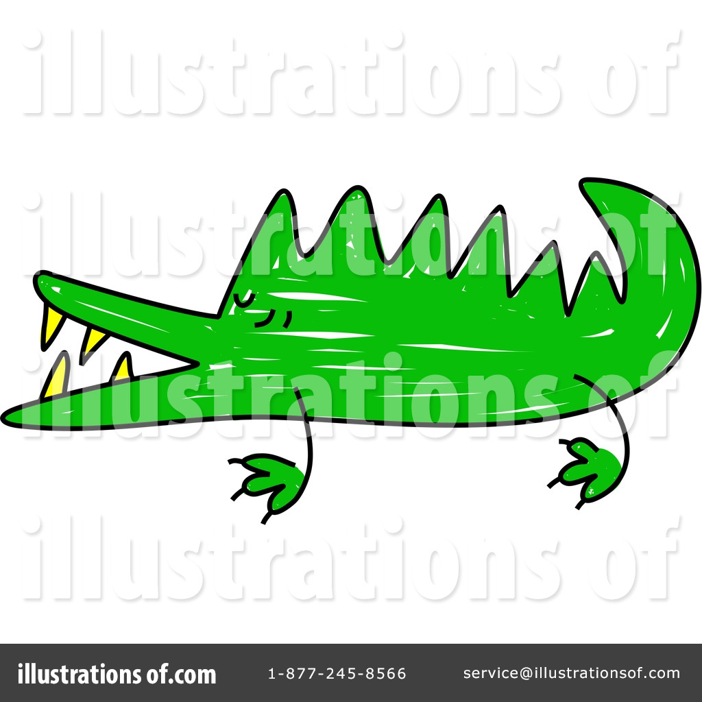 Crocodile clipart. Illustration by prawny royaltyfree