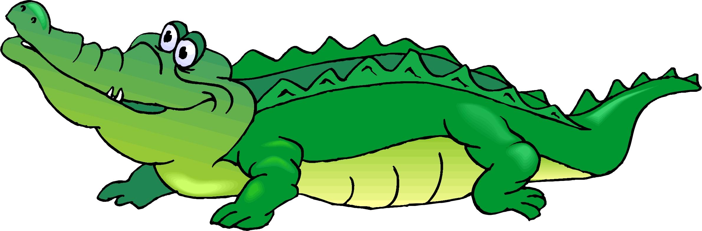 Cartoon . Crocodile clipart