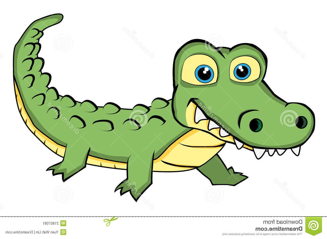 Station . Back clipart crocodile