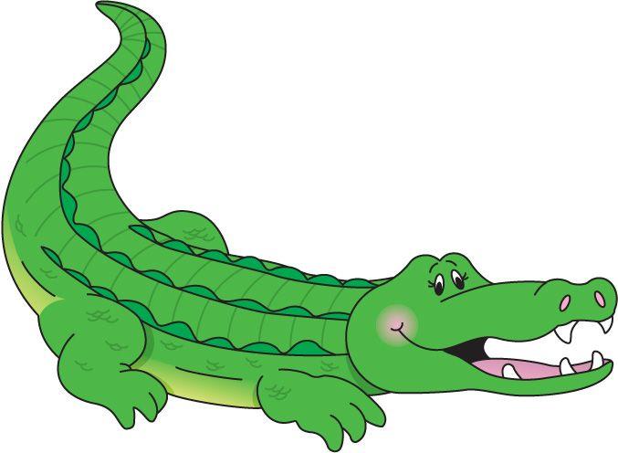 . Crocodile clipart