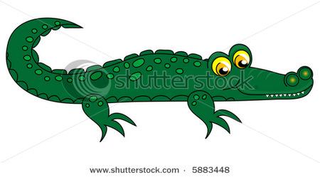 Crocodile clipart. Clip art free panda