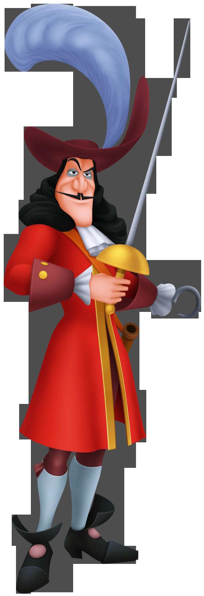 Hook kingdom hearts wiki. Crocodile clipart captain hook's