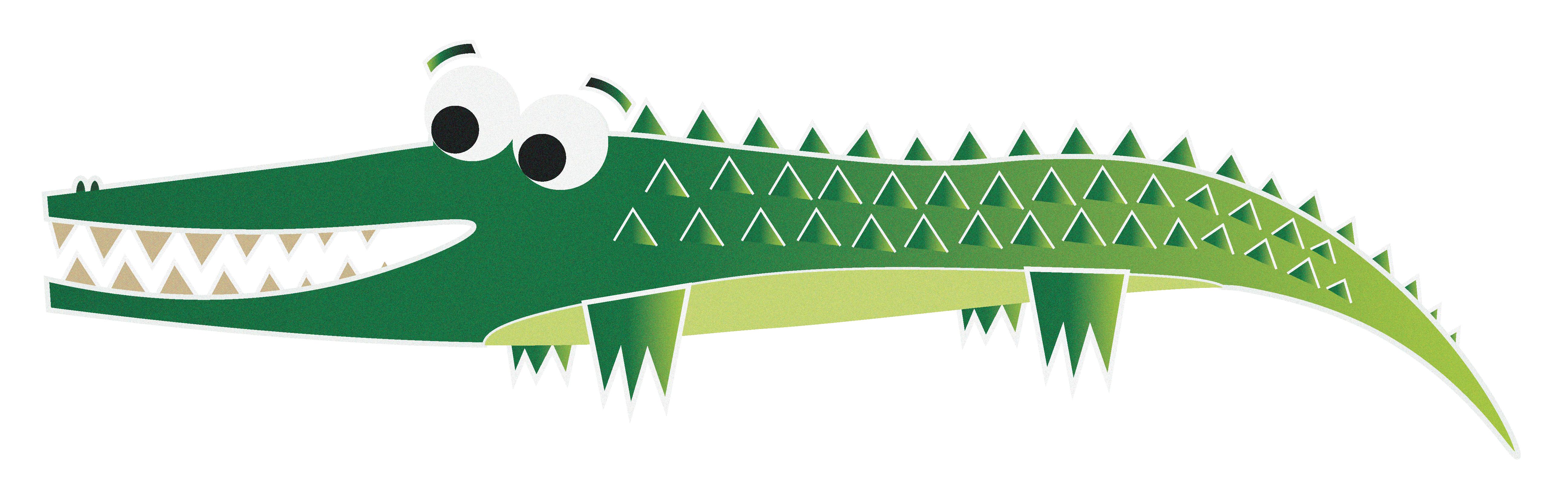 Design level lauren chandler. Crocodile clipart colour