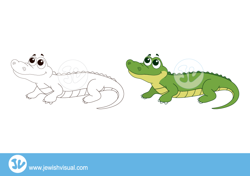 Dinosaur clipart crocodile. Jvisual crocodileclipart