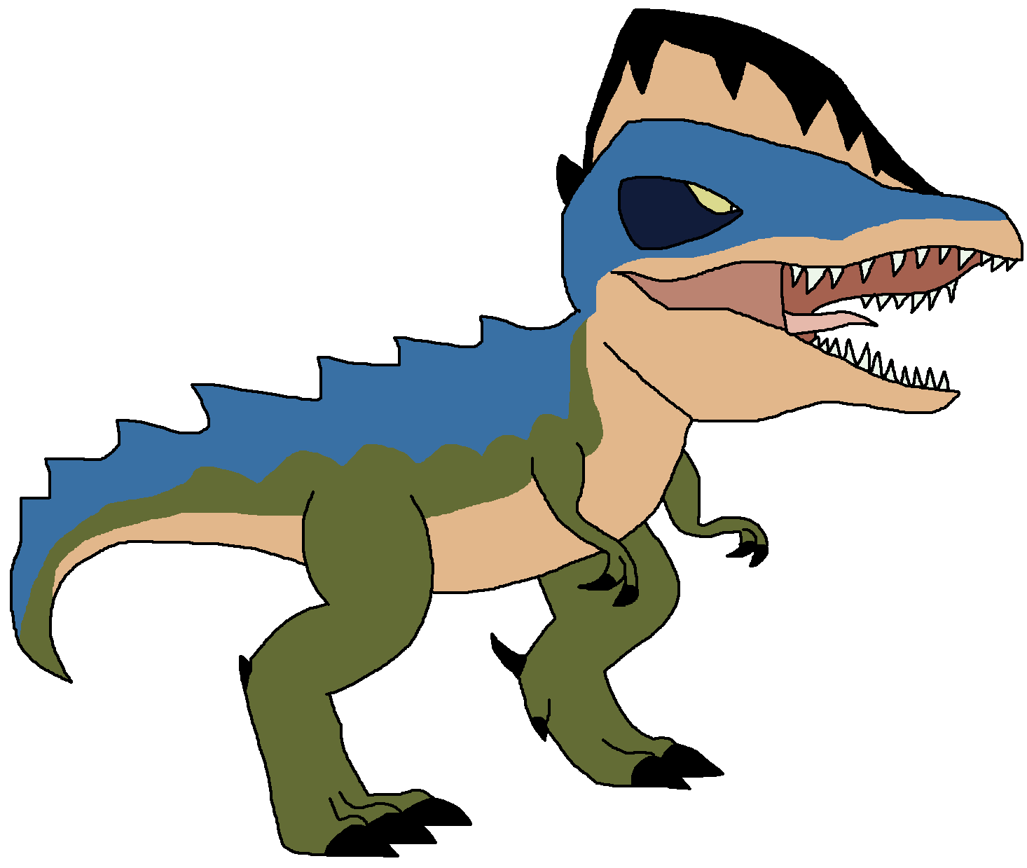 Image alangasaurus png pedia. Crocodile clipart dinosaur