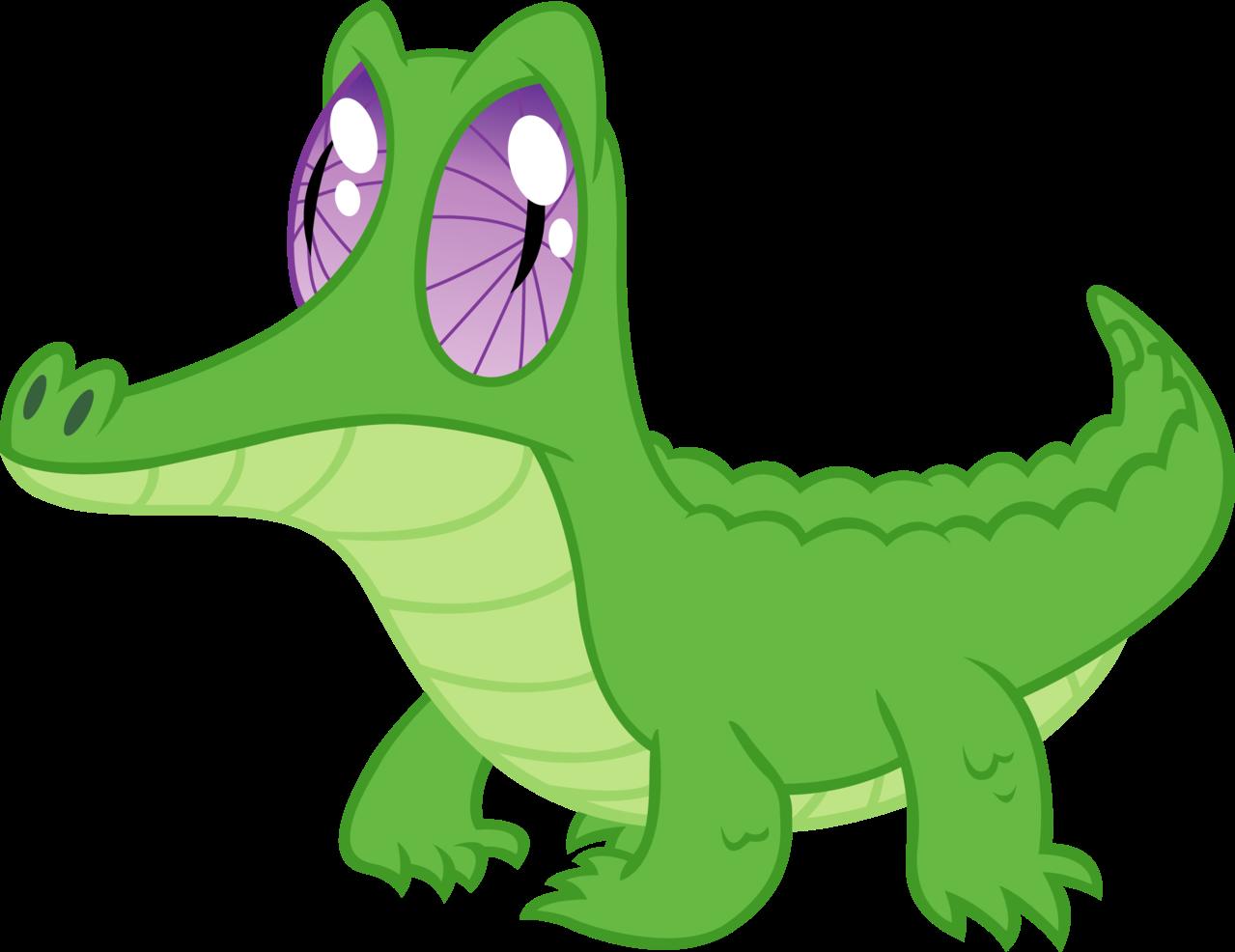 Gummy sticker by felix. Crocodile clipart editorial cartooning