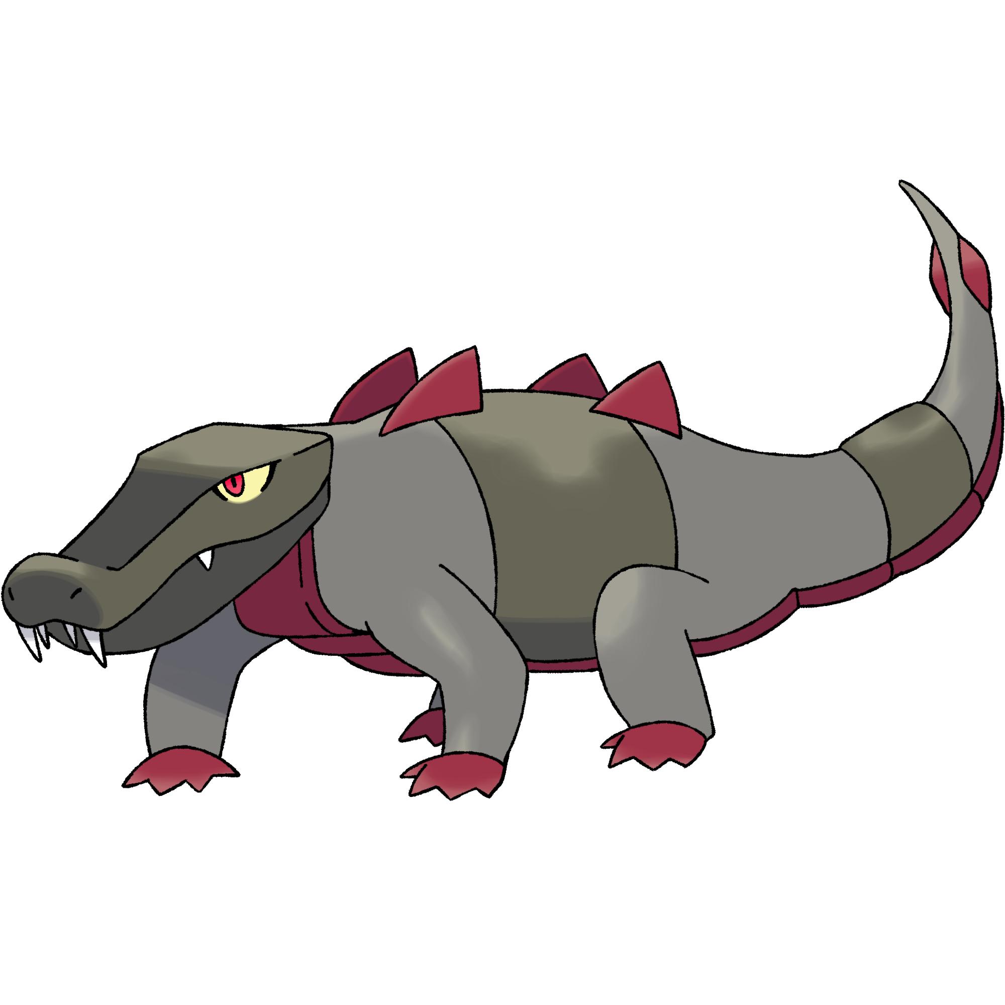 Crocodon darkandwindie fakemon wiki. Footprint clipart crocodile