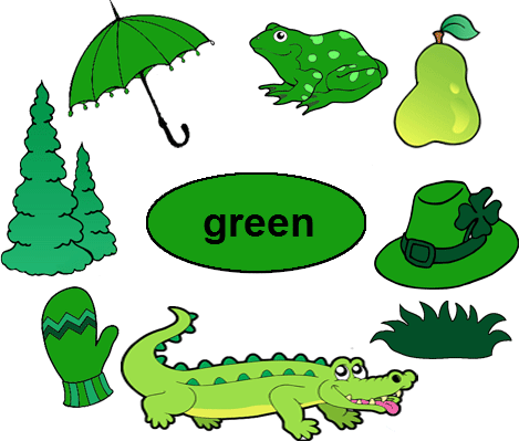 Crocodile clipart green object. Color worksheets for kindergarten