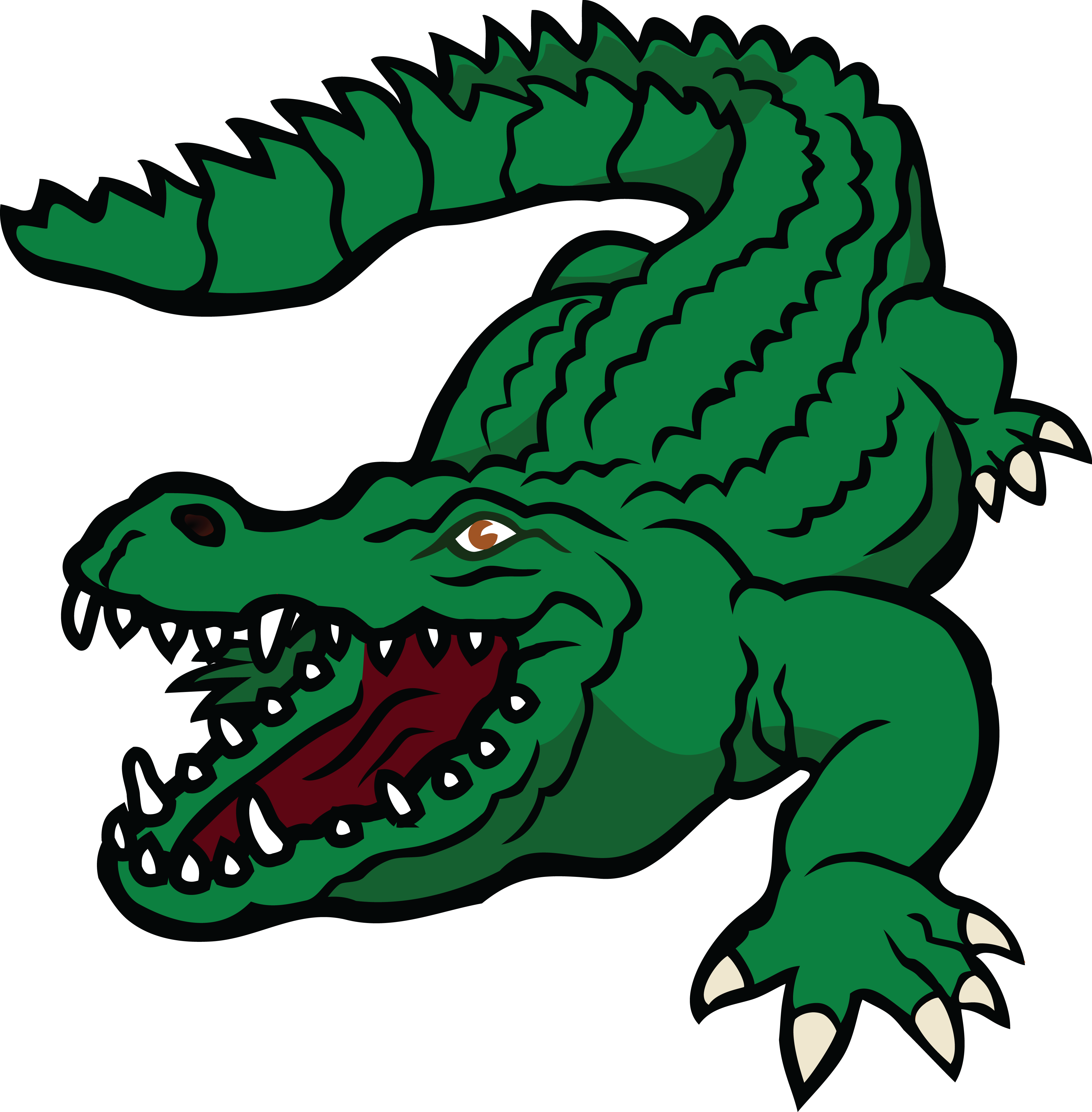 collection of crocodile. Alligator clipart mad