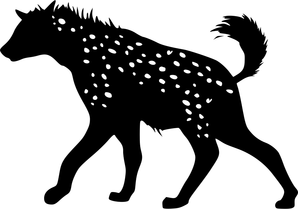 Svg png icon free. Face clipart hyena