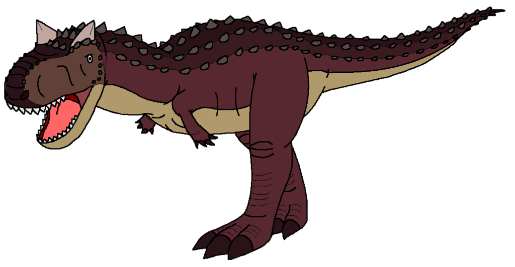 Dinosaurs clipart carnivore dinosaur. Carnotaurus by kylgrv deviantart