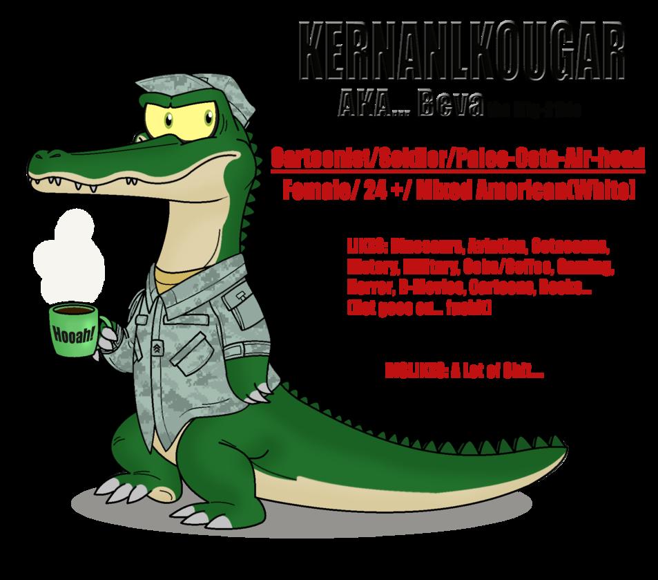 Alpha gator id by. Crocodile clipart toon