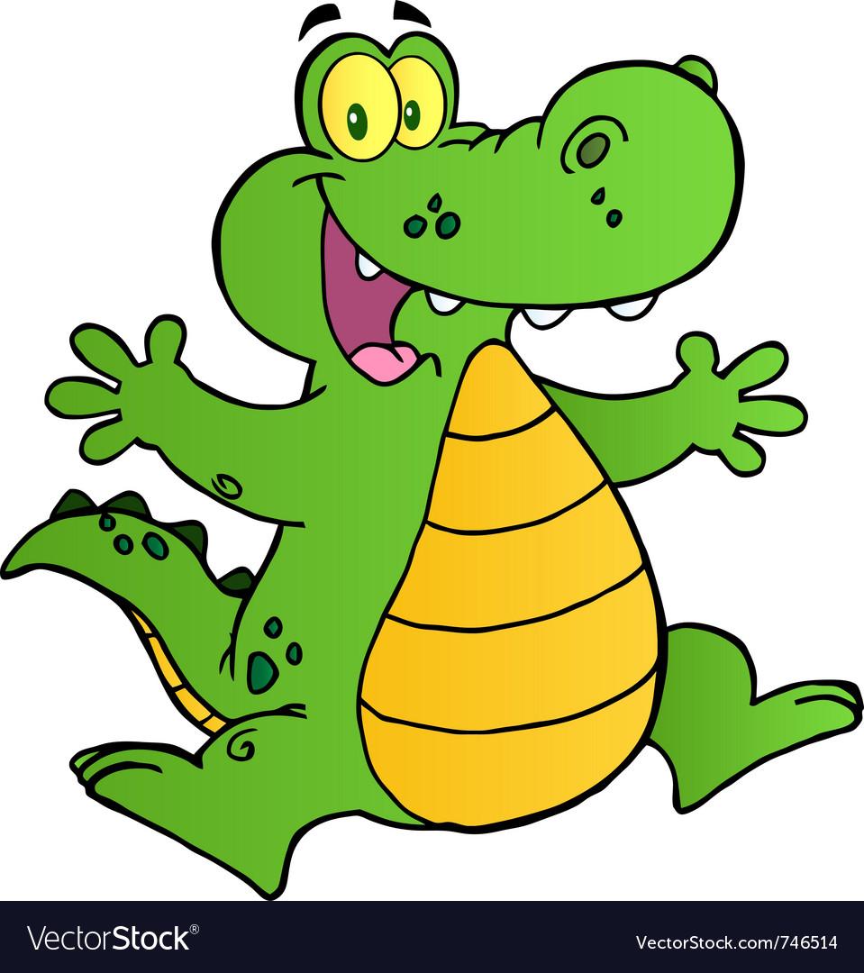 Free download clip art. Crocodile clipart toon