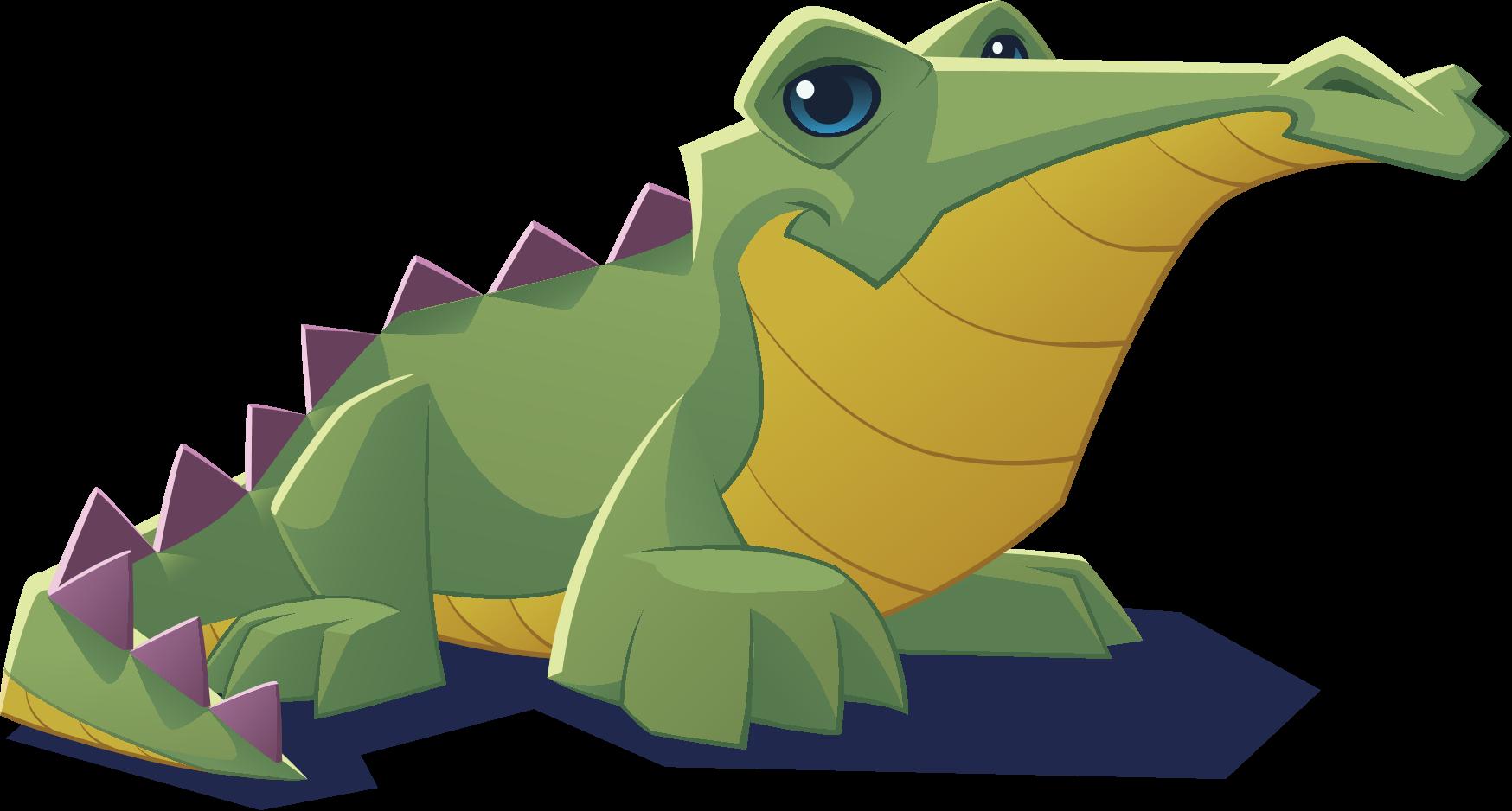 Lizard clipart land animal. Image renovated art croc