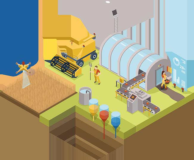 Factories clipart agriculture sector. European parliament robotics a