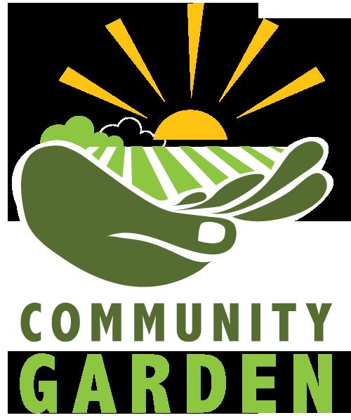 Community gardens the delta. Garden clipart logo