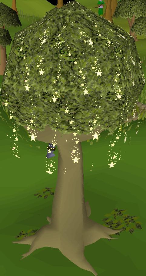 Farming training old school. Fairytale clipart tree