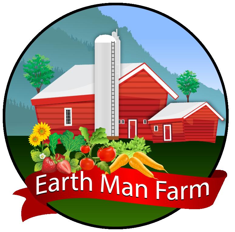 Earthman farm flowers vegetables. Farmers clipart farmer planting