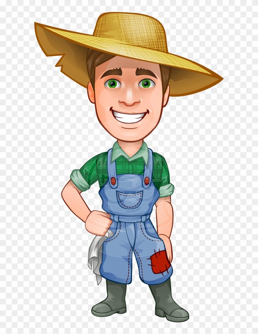 Farmers clipart subsistence farming. Farmer cartoon png